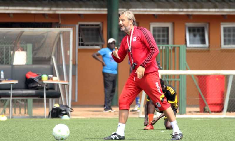 Desabre Names Cranes Squad For Crucial AFCON Qualifier