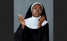 A Controversial ' Nun' Pictures Cause Furry In Nigeria