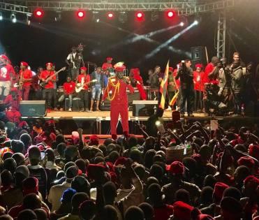 Bobi Wine Beats All Odds To Hold Successful Kyarenga Concert, Thanks UG Police For Job Well Done