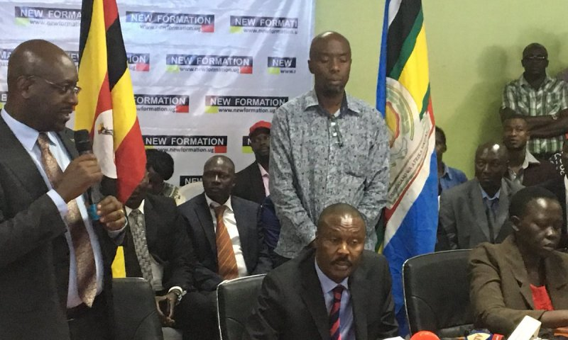 Muntu, New Formation Members Discuss 'Party' Constitution