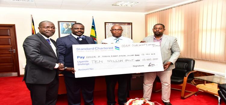 Nodding Disease Victims Receive Shs 10M Donation