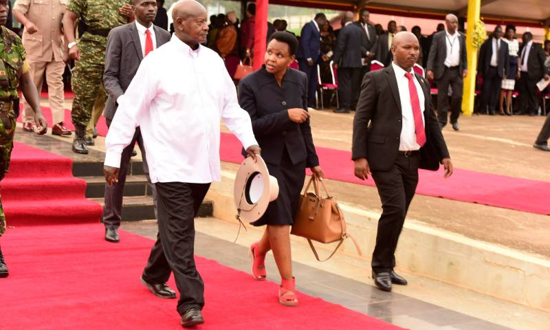 We're Going To Enact Law That Allows Us To confiscate property of the corrupt- President Museveni Releases The Only Left Bullet