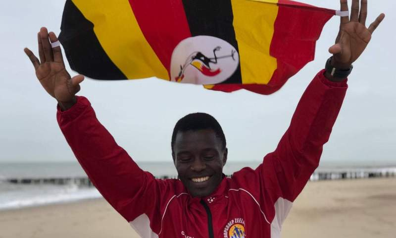 Aggrey Agaba, Uganda's Young Athlete Makes History In Netherlands,Cries To Gov't For Support