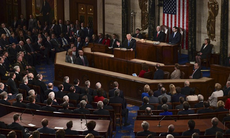 Trump's State of Union Speech Could Be Cancelled Over Gov't Shutdown-US Senate