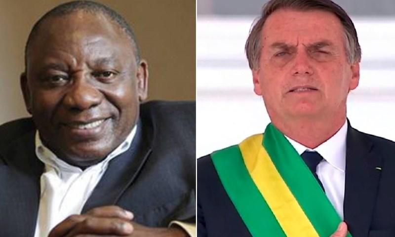 President Ramaphosa Congratulates Brazil's Bolsonaro