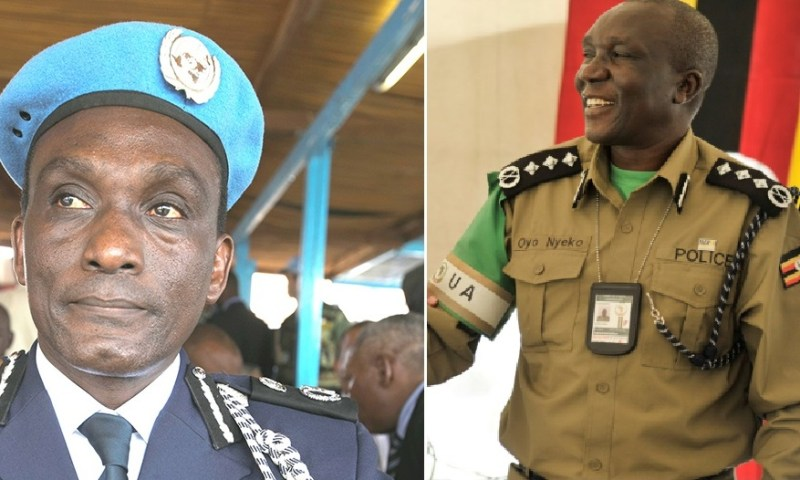AIGP Yiga Leaves Interpol, Nyeko Takes Over