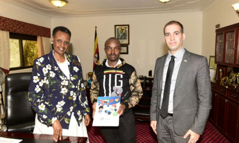 First Lady Janet Museveni Hails e2Young Engineers