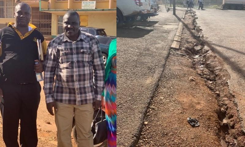 Residents In Fear As Bank of Uganda Destroys Masaka Roads
