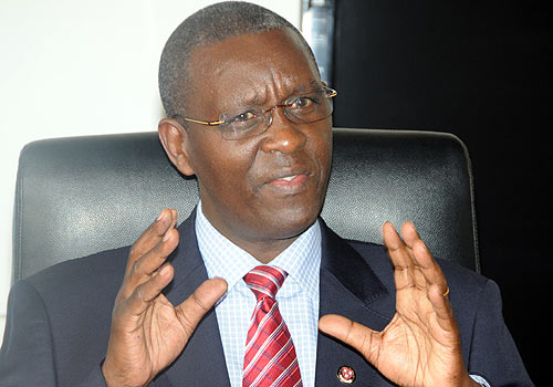 Bigirimana Gives District  Officials New Guidelines  On Youth Livelihood Funds