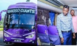 Jose Chameleone Donates Bus To Wakiso Giants