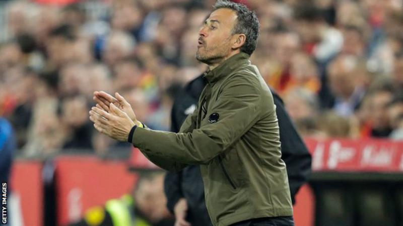 Spain Manager Enrique Resigns After 11 Months