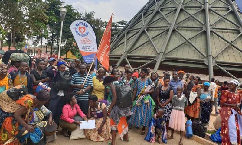 MP Mwijukye Leads Pilgrims To Namugongo