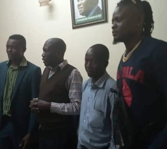 Jose Chameleone, Pallaso Join Democratic Party Ahead of 2021 Elections