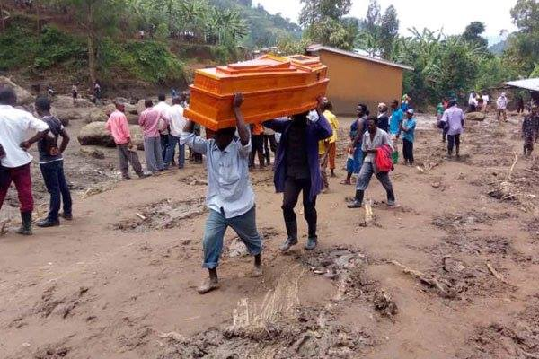 Bududa Mudslide Death Toll Hits 5, Over 50 Missing