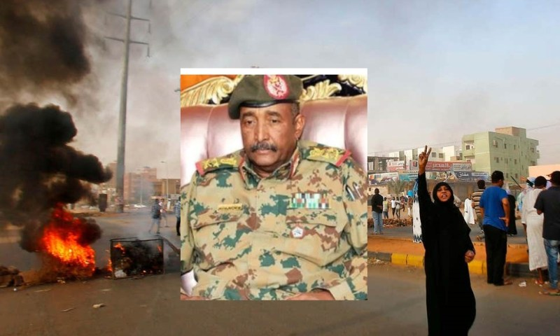 Sudan Army Bows Down To People Power, Surrender Power