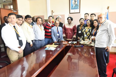 Speaker Kadaga Hails Indian Doctors For Treating Ugandans