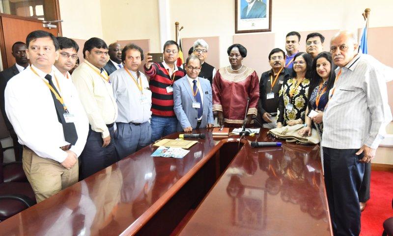 Speaker Kadaga Hails Indian Doctors For Treating Ugandans