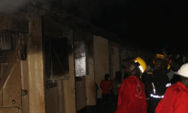 Property Worth Millions Lost As Fire Guts Wairaka College