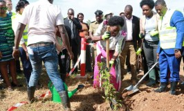 Speaker Kadaga Launches Tree Planting Initiative
