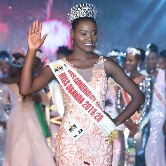 Oliver Nakakande after being crowned