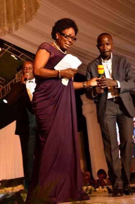 Speaker Rebecca Kadaga represented