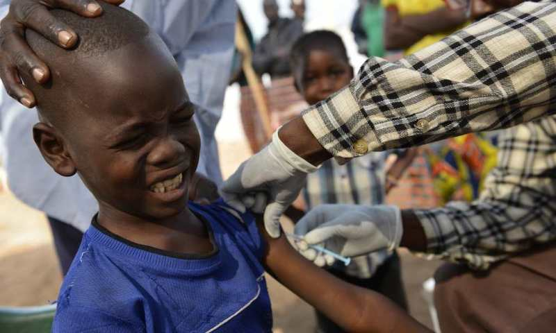 Vaccination to Contain Measles Outbreak Underway In DRC Amidst Ebola' Mass Displacement