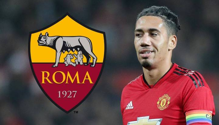 Chris Smalling Is 'On The Verge' Of Leaving Troubled Manchester United To Roma On Loan