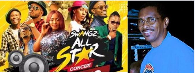 Bob Marley Producer Errol Brown  To Grace Bell Lager Allstar Concert