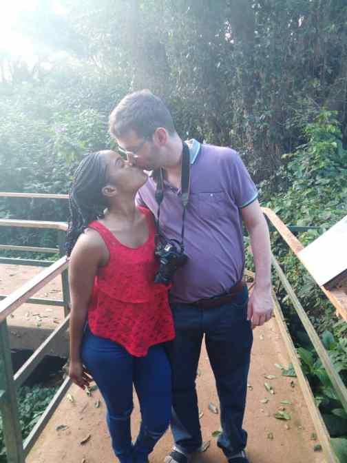 Mariam enjoying romance with her Mzungu