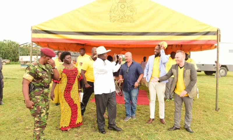 President Museveni Launches  Marijuana Growing In Uganday