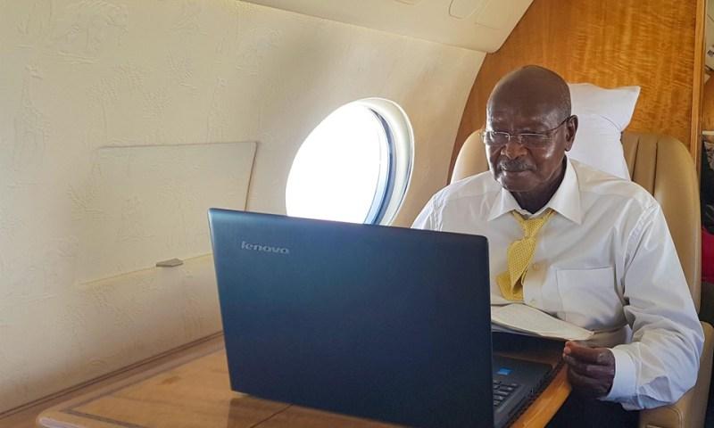 President Museveni Responds To Bazzukulu On Social Media