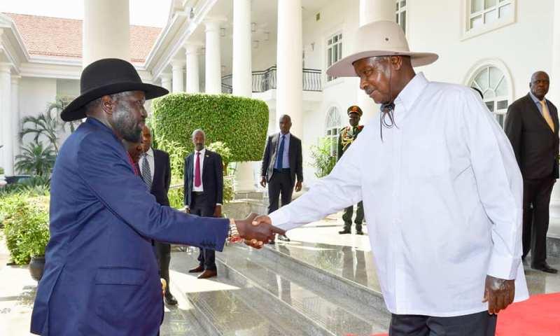 Museveni, Salva Kiir Hold Secret Talks Over Uganda Airlines