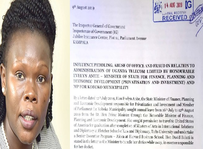 Whistleblower Petitions IGG To Probe Min. Anite Interests In UTL