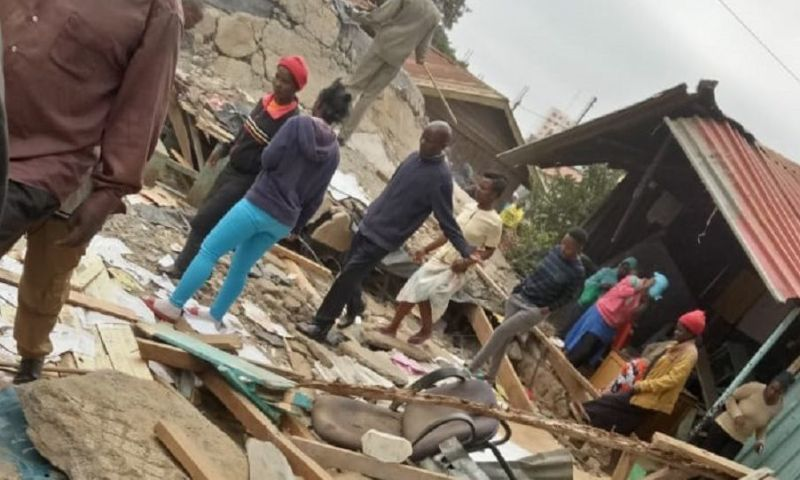 Seven Children Killed, 57 Injured as Classroom Collapses