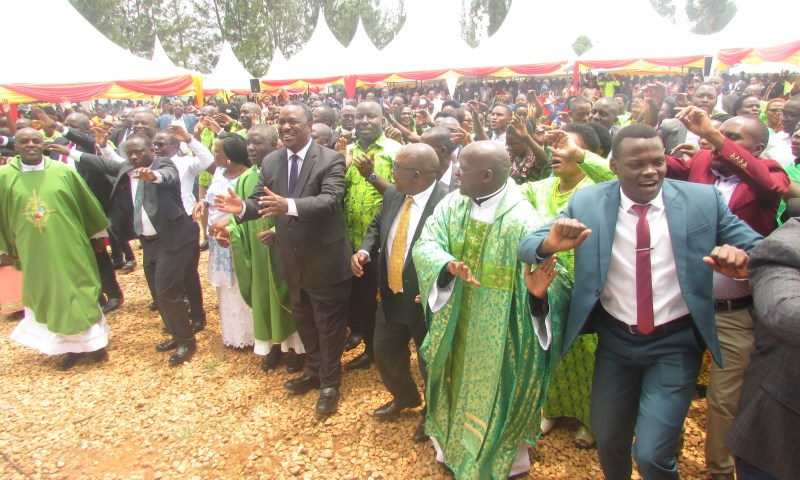 Museveni Urges Mbarara Archdiocese Religious Leaders To Fight Sectarianism
