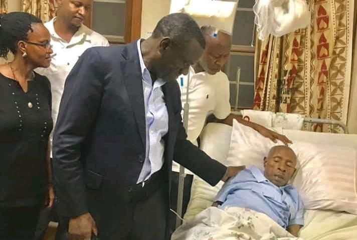 Frank Gashumba's Dad Succumbs To Cancer