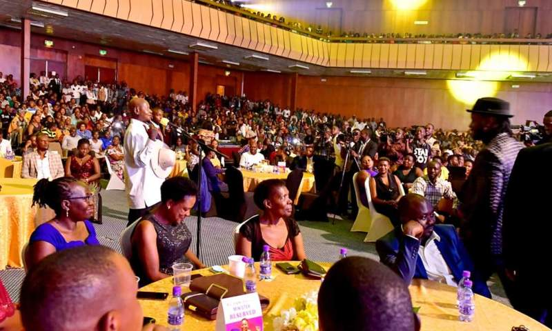 Museveni Hails Ugandan Artistes For Creativity At Kusasira's Concert