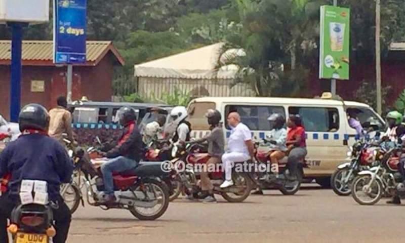 Heavy K'la Traffic Jam Forces Tycoon Sudhir To Jump On Boda-boda