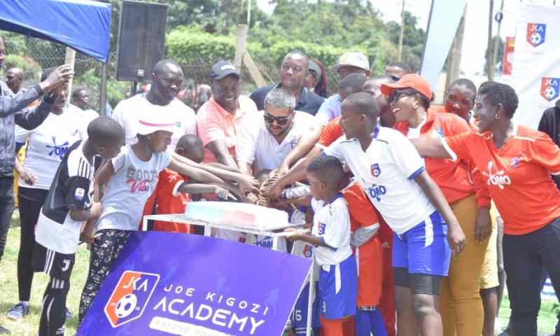 NBS TV's Kigozi Finally Launches Soccer Academy, Apass Unveiled As Ambassador