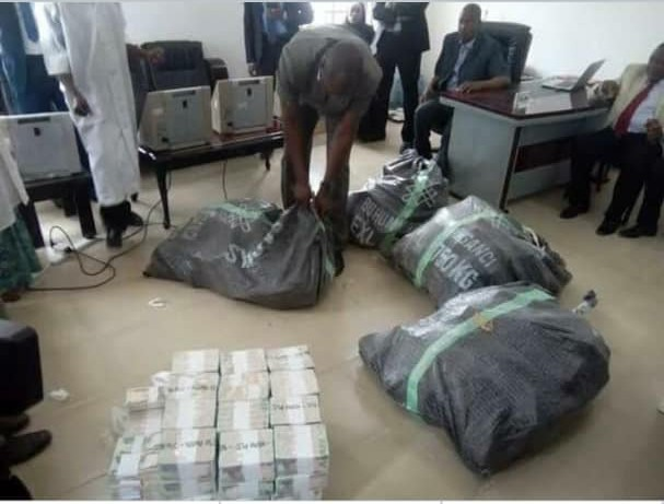 BoU Senior Staff Arrested With Sacks Of Money