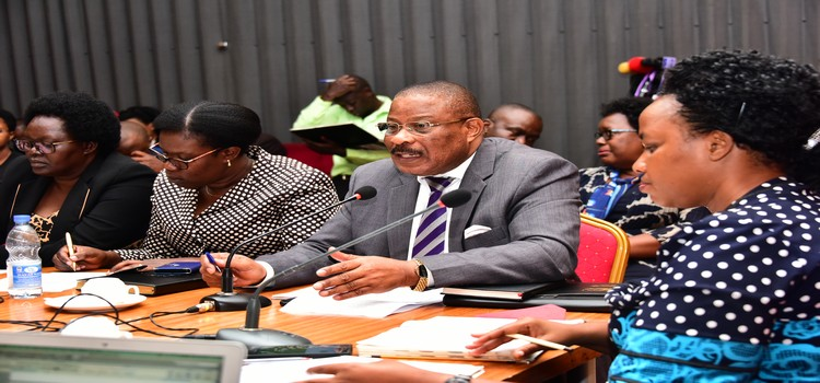 'You're Just  Farting On Job As Ugandans Die  In Safe Houses' – MPs Attack UHRC Boss Kaggwa