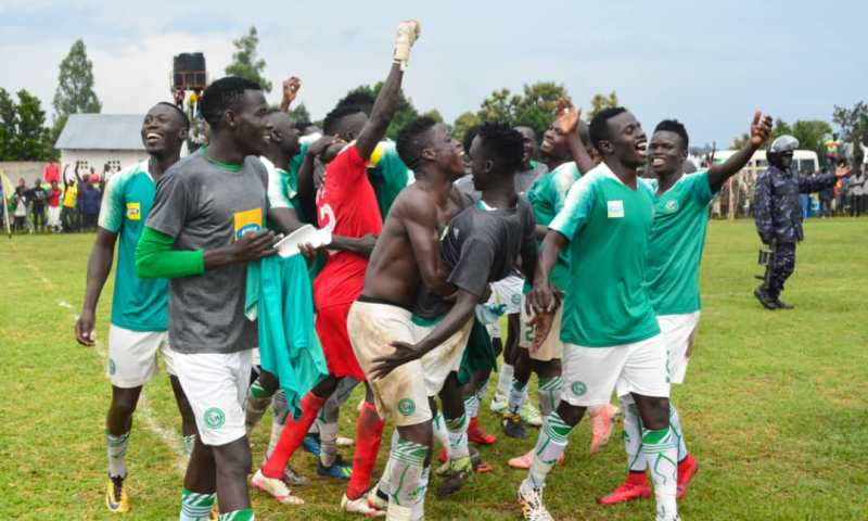 Pressure As Onduparaka Humbles Express At Wankulukuku