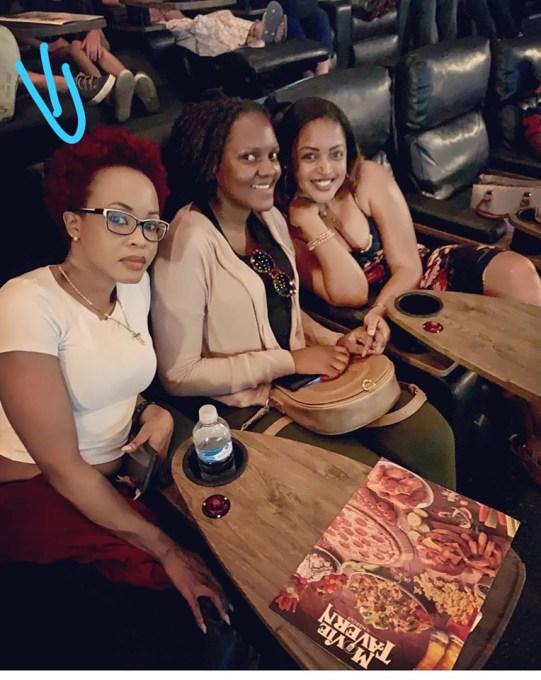 Sasha(L) with Pal and Komuntale