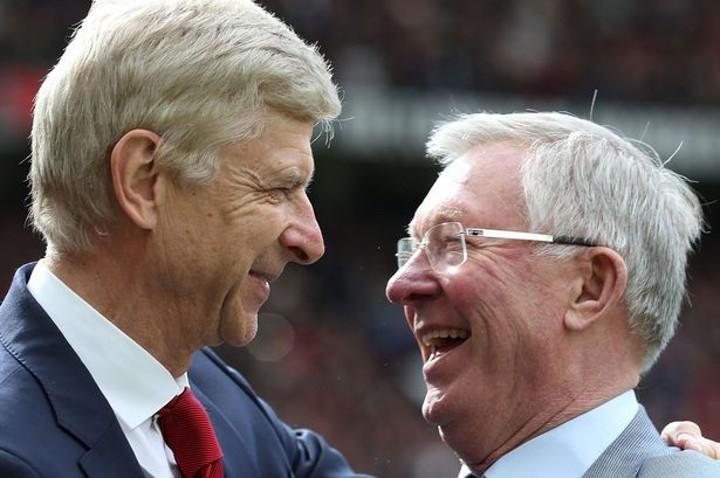 Ferguson Congrats Wenger For Being Honoured Legends Of Football Award