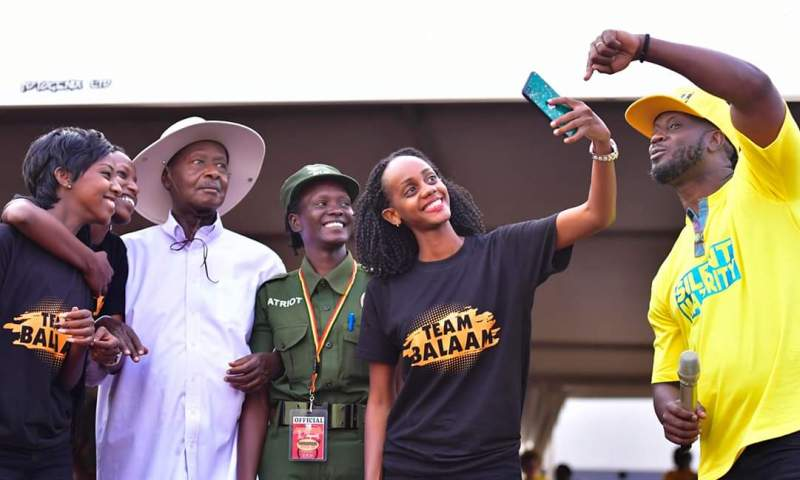 President Museveni Thrills Youth At Patriotism Katch Up, Pledges Shs1Bn Support