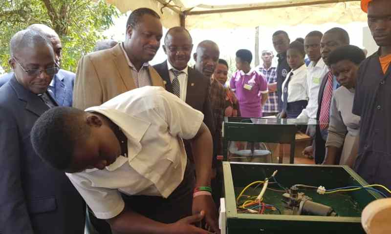 'Stay Safe Downstairs And Smart Upstairs'- Min. Tumwesigye Urges Youth