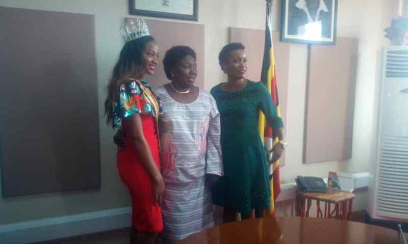 Speaker Kadaga Bails Out Miss Uganda Kyeru With Air Ticket To Miss World Pageant In Malaysia
