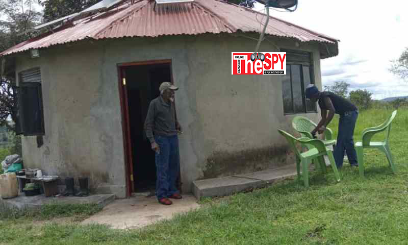 Exclusive; Maj.Gen.Kasirye Ggwanga's Palatial Country Home Finally Exposed