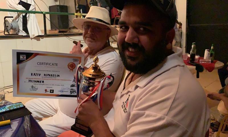 Rajiv  Crowned Champion Of Kalangala Autocross