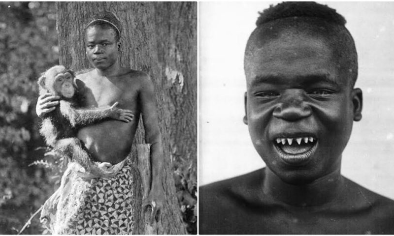 Sad Story Of Ota Benga, The Boy Stolen From DR Congo, Caged In A US Animals Zoo
